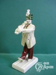"Скульптура""Клоун Вяткин с собачкой"""